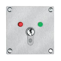 Einbau Schlüsselschalter mit LED-Anzeigen