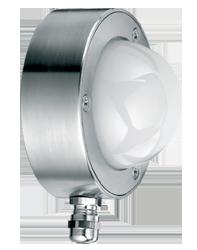 Zimmersignalleuchte mit Kabelverschraubung zweistufig Dauerlicht