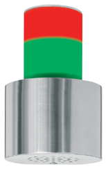 Signalgeber optisch-akustisch zweistufig 15 Signaltöne - RS232 Schnittstelle