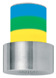 Signalgeber optisch-akustisch dreistufig - 100 mm - 15 Signaltöne