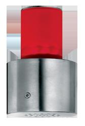 Signalgeber optisch-akustisch rot gelb grün 15 Signaltöne - RS232 Schnittstelle