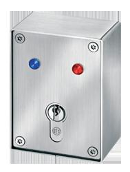 Schlüsselschalter Aufputz und Unterputz