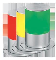 Mehrfarbensignalleuchte Multifunktion - RS232