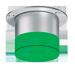 Signalleuchte für Wand- und Deckenmontage mit RS232 Schnittstelle