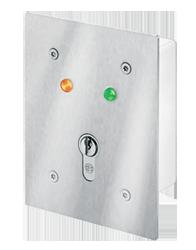 Unterputz Schlüsselschalter mit LED-Anzeigen