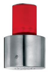 Signalgeber optisch-akustisch einstufig 15 Signaltöne - RS232 Schnittstelle