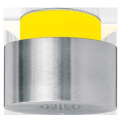 Signalgeber optisch-akustisch einstufig - 100 mm - 15 Signaltöne - RS232