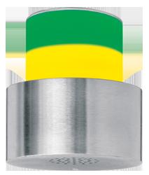 Signalgeber optisch-akustisch zweistufig - 100 mm - 15 Signaltöne - RS232