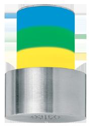 Signalgeber optisch-akustisch dreistufig - 100 mm - 15 Signaltöne - RS232