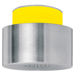Piezosignalgeber optisch-akustisch einstufig - 100 mm - 30 Signaltöne - 110 dB