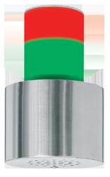 Piezosignalgeber optisch-akustisch zweistufig 30 Signaltöne 110 dB